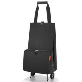 Reisenthel Foldable trolley Black Wózek na zakupy