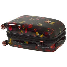 IT Luggage Warrior Dark Floral Print mała walizka kabinowa S