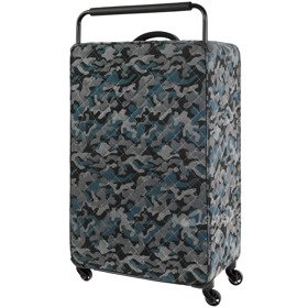IT Luggage World's Lightest Quilted Camo duża walizka