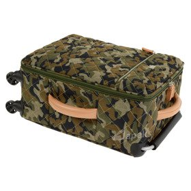IT Luggage World's Lightest Quilted Camo mała walizka kabinowa