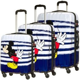 American Tourister Disney Legends zestaw walizek / komplet / set / Mickey Kiss