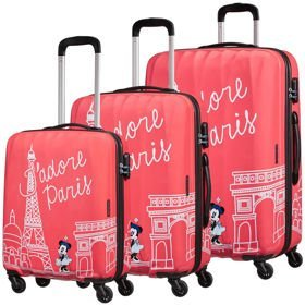 American Tourister Disney Legends zestaw walizek / komplet / set / Take Me Away Minnie Paris
