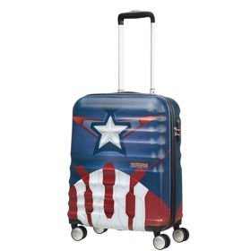 American Tourister Wavebreaker Disney mała walizka kabinowa 20/55 cm / Captain America Close-Up