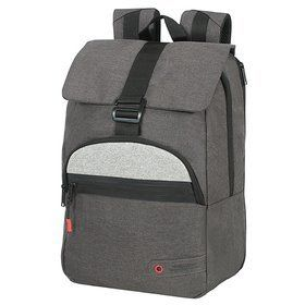 "American Tourister City Aim miejski plecak na laptopa 14,1"" / Anthracite Grey"