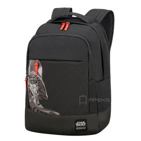 "American Tourister Grab'n'go Star Wars plecak na laptopa 15,6"" / Darth Vader Geometric"