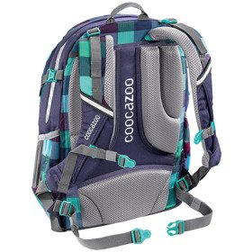 "Coocazoo JobJobber II plecak szkolny 45 cm / laptop 15,4"" / Green Purple District"
